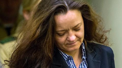 Beate Zschäpe vor Gericht in München