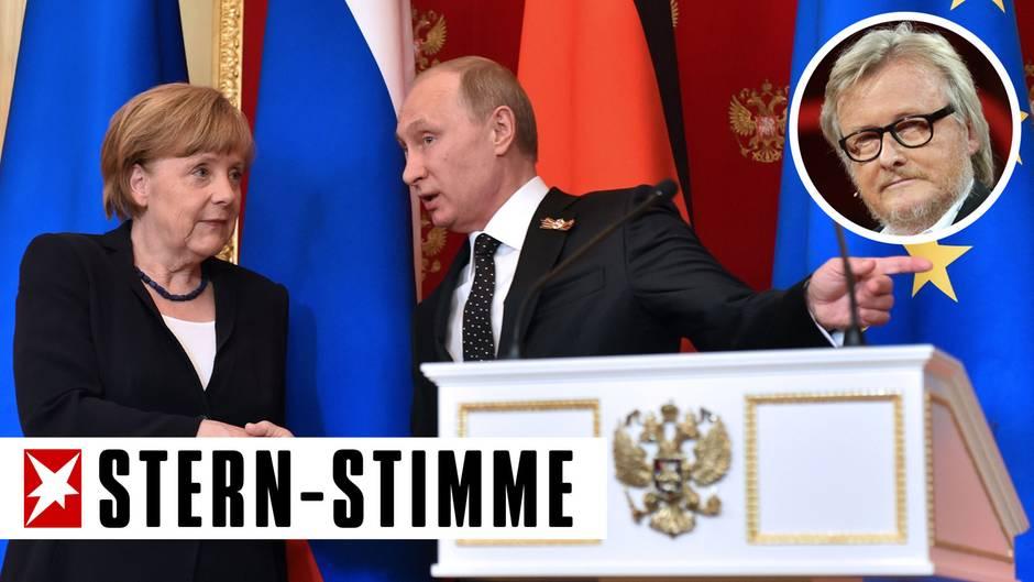 """Hans-Ulrich Jörges: """"Klartext"""": Merkels Blackout bei Putin"""