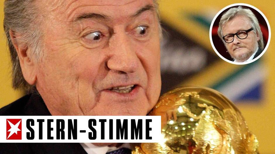 "Hans-Ulrich Jörges: ""Klartext"": Blatter, die Voodoo-Puppe des korrupten Fußballs"