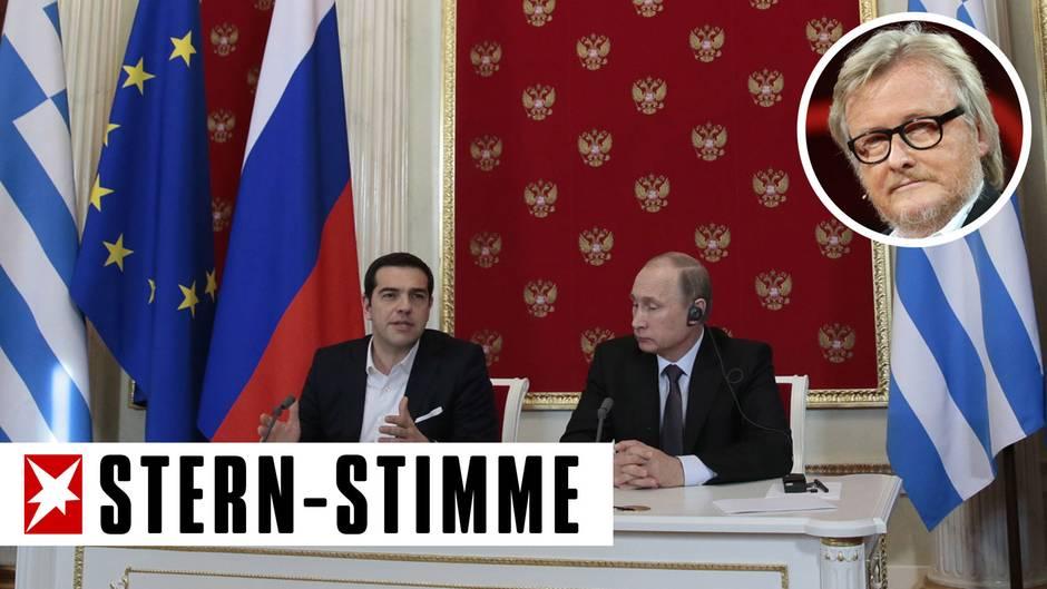 """Hans-Ulrich Jörges: """"Klartext"""": Tsipras ist abgeblitzt - Putin steht zu Europa!"""