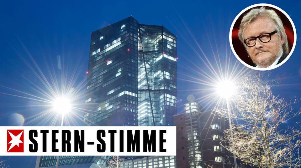 """Stoppt die EZB-Diktatur!"": Femen-Aktivistin attackiert EZB-Chef Mario Draghi"