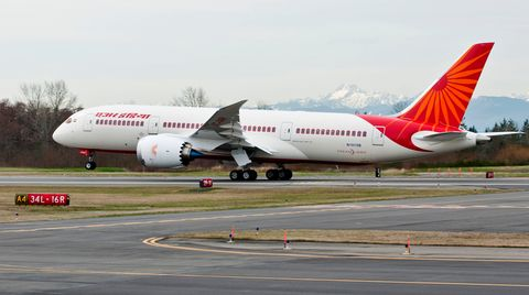 Boeing 787 von Air India