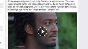Beim FC Eschwege sorgen Flüchtlinge aus Eritrea und Somalia für einen Aufschwung