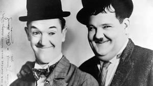 Stan Laurel und Oliver Hardy