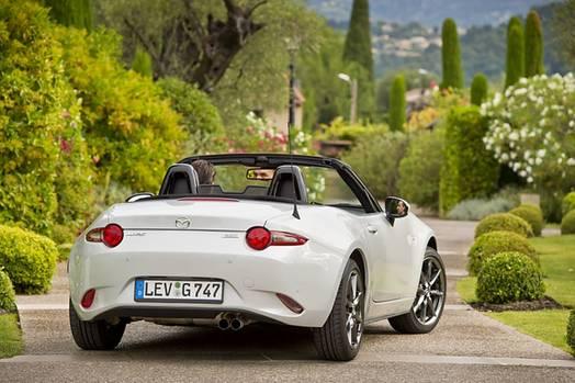 Mazda MX 5 2.0 i-Eloop - kommt im September in den europäischen Handel
