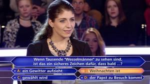 """""""Wer Wird Millionär?""""-Kandidatin Christina Werth"""