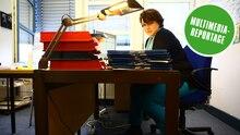 Beamtin der Berliner Außenstelle des Bundesamt für Flüchtlinge und Migration