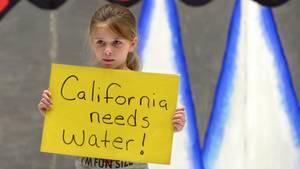 Kalifornien leidet seit Monaten unter Wasserknappheit - das kümmert jedoch nicht jeden