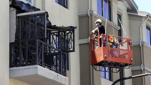 Ein Balkon ist in Berkeley während einer Party eingestürzt. Sechs Menschen kamen ums Leben.