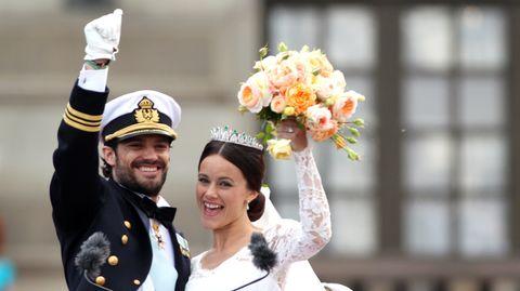 Hochzeit von Prinz Carl Philip und Sofia Hellqvist: Diese Royals reisen zur Trauung nach Stockholm