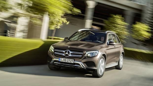 Mercedes GLC - ersetzt den kantigen GLK
