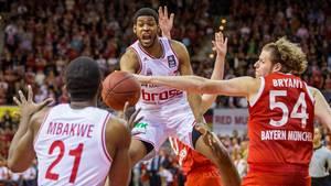 Basketball Playoffs Bayern gegen Bamberg