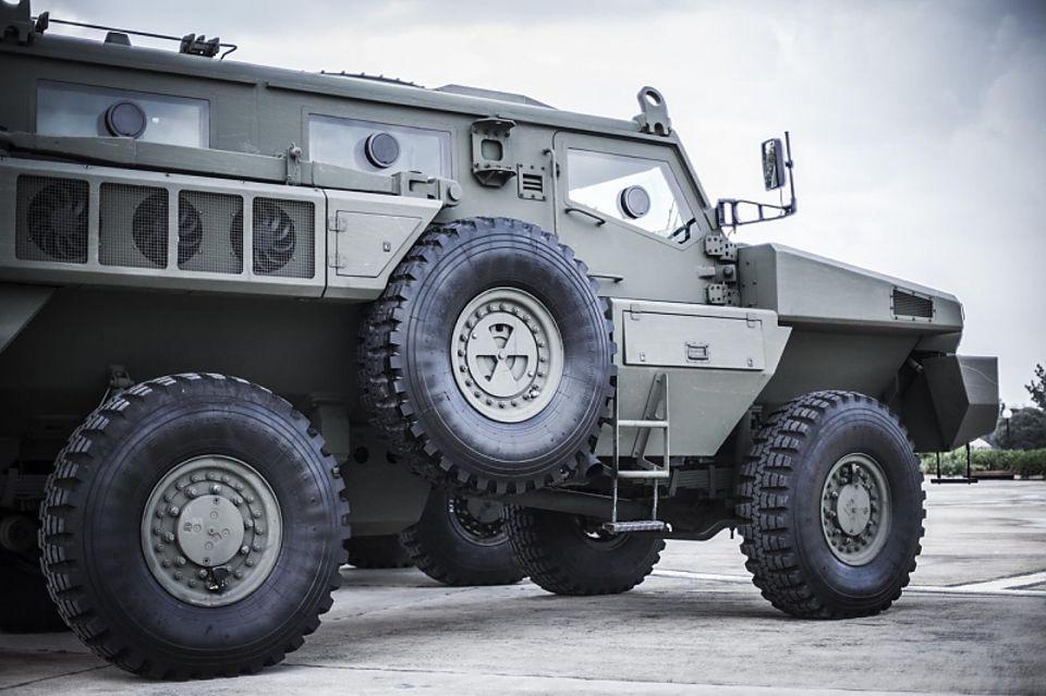 Das mächtige SUV kommt aus Südafrika