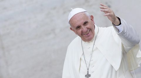 """Papst Franziskus stellt seine Öko-Enzyklika """"Laudato si"""" vor"""