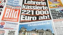 """""""Bild""""-Ausgabe vom Donnerstag"""