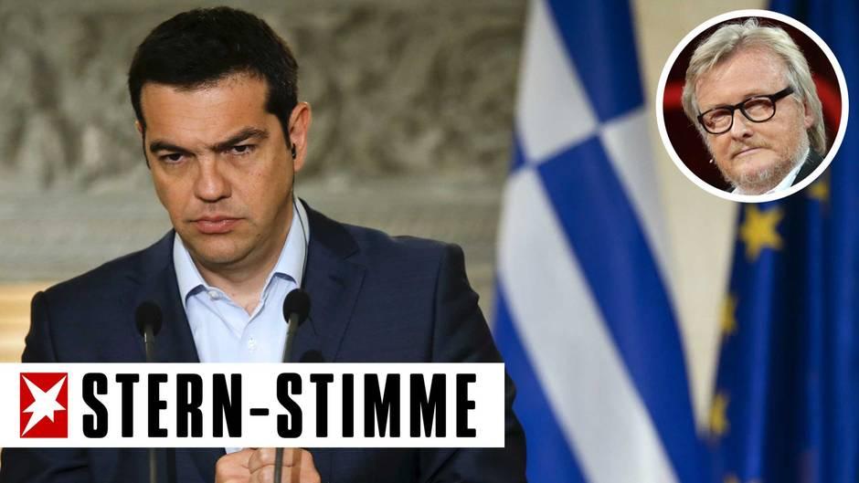 """Hans-Ulrich Jörges: """"Klartext"""": Keinen Cent für Tsipras!"""