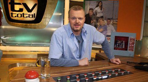 """TV total""-Moderator Stefan Raab"