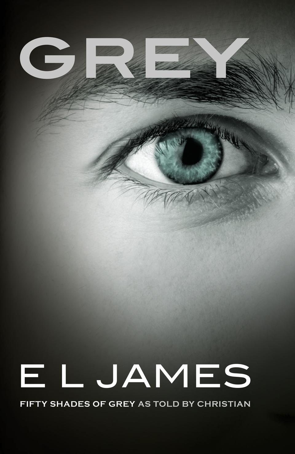 GREY - das ist das Cover des neuen Romans von E.L. James