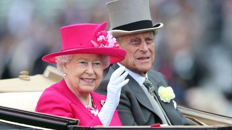 Queen Elizabeth II. und ihr Mann Prinz Philip kommen vom 23. bis 26. Juni nach Deutschland