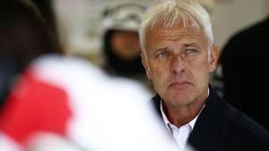 Auch Porsche-Chef Matthias Müller war ebenfalls in Le Mans