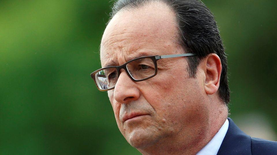 François Hollande setzt voll auf einen Kompromiss