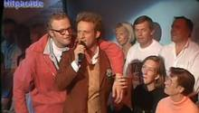 Stefan Raab in der ZDF-Hitparade