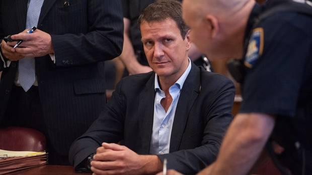 Stefan Arzberger bei einem Anhörungstermin im April