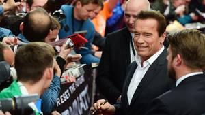 """Arnold Schwarzenegger auf der """"Terminator""""-Premiere in Berlin"""