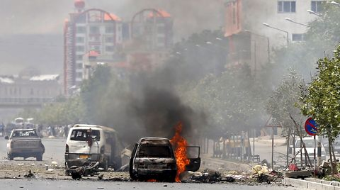 Afghanistan: Mehrere Explosionen erschütterten das Gebiet um das Parlament in Kabul