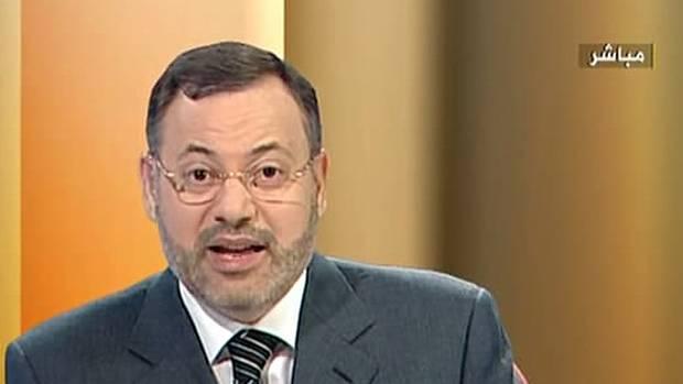 Der Journalist Ahmed Mansur. Das undatierte Foto stellte der TV-Sender Al-Dschasira zur Verfügung.