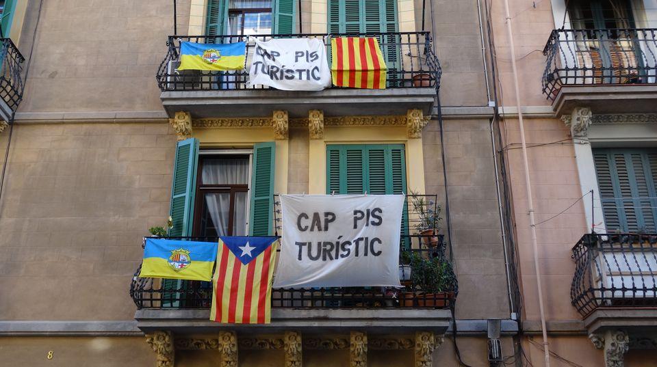 Proteste im Viertel Barceloneta: Schluss mit den Appartements für Touristen