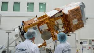 Der Satellit Sentinel-2A hat rund 400 Millionen Euro gekostet