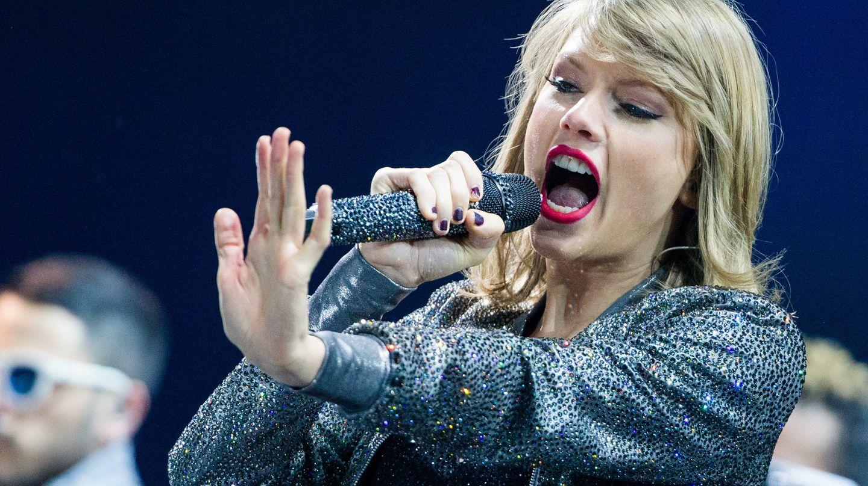 US-Sängerin Taylor Swift auf der Bühne
