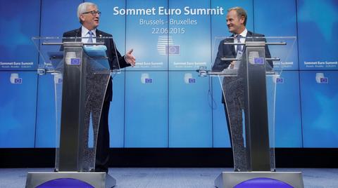 EU-Kommissionspräsident Jean-Claude Juncker und EU-Ratspräsident Donald Tusk