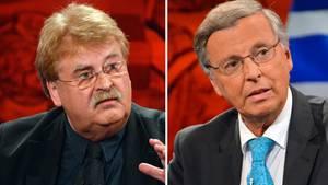 """Elmar Brok und Wolfgang Bosbach bei """"Hart aber fair"""""""