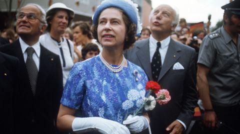 Die Queen in Deutschland: Im Mai 1978 steht der zweite Staatsbesuch auf dem Programm. Königin Elisabeth II. und Prinz Philip reisen nach Berlin, Bonn, Mainz, Kiel und Bremen.