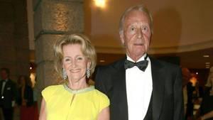 Helmut Lohner mit seiner Frau Elisabeth Gürtler bei den Festspielen in Salzburg (Archivbild 2014)
