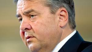 """""""WederDeutschland, nochEuropa wird sich erpressen lassen"""", sagt Sigmar Gabriel"""