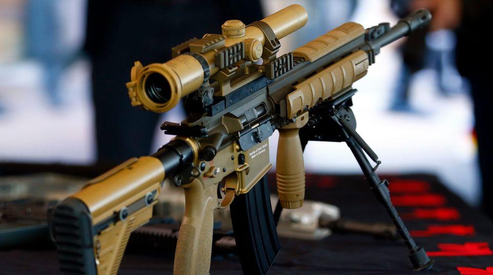 Ein Sturmgewehr des Typs HK417: Auch deutsche Kleinwaffen sind im Ausland sehr beliebt.