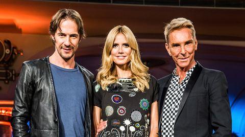 Zukünftig wird Heidi Klum bei GNTM ohne ihre Jury-Kollegen Thomas Hayo und Wolfgang Joop auskommen müssen