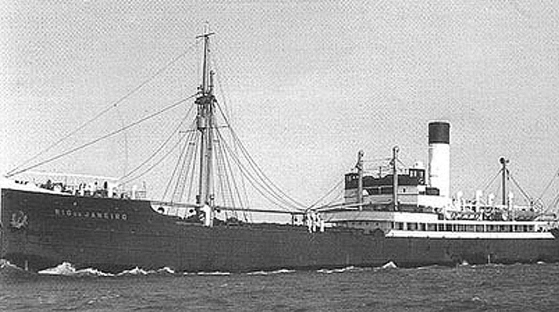 """183 Matrosen überlebten den Angriff auf die """"Rio de Janeiro"""" und wurden von den Bewohnern von Lillesand und Høvag versorgt"""
