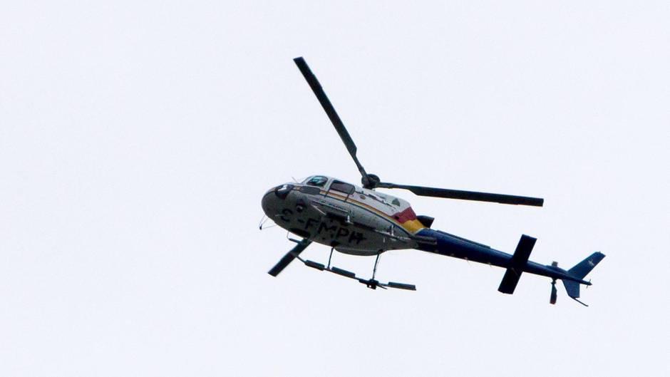 Die Insassen des Hubschraubers merkten zu spät, dass ihr Gespräch in weiten Teilen von Winnipeg zu hören war