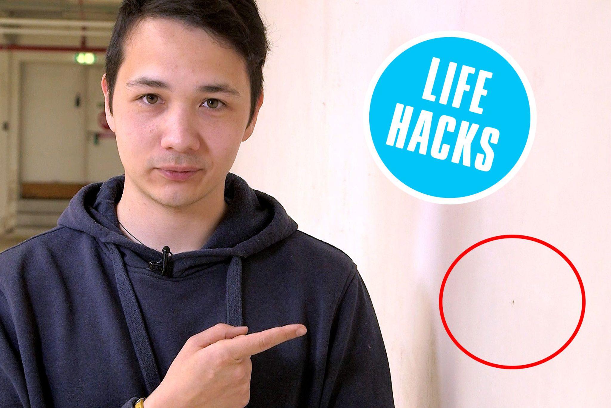 Life Hacks So Einfach Füllen Sie Löcher In Der Wand STERNde - Fliesen löcher zumachen