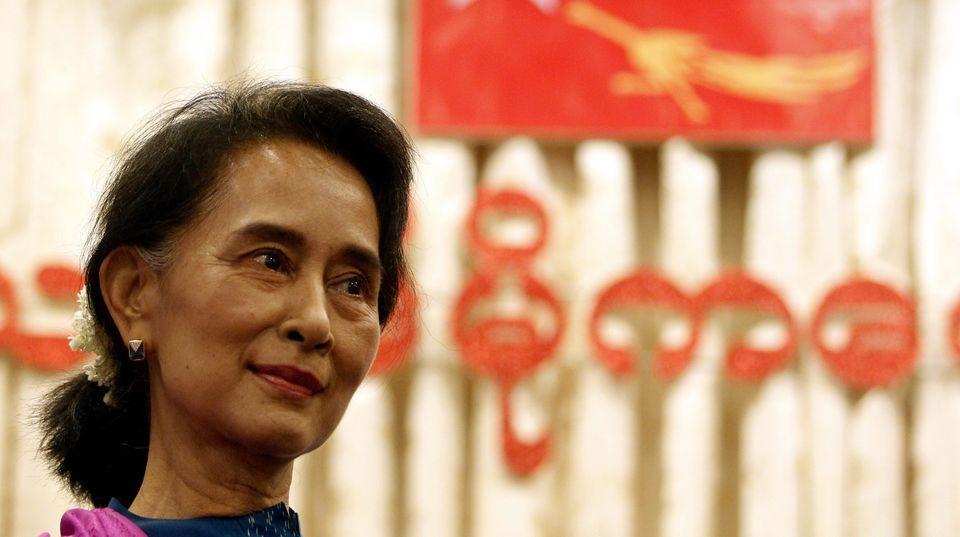 Myanmar war bis 2011 eine Militärdiktatur - bereits seit 1990 will die Friedensnobelpreisträgerin an die Macht