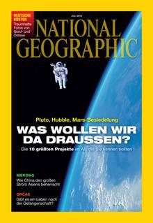 Den ganzen Text finden Sie in der aktuellen Ausgabe von National Geographic