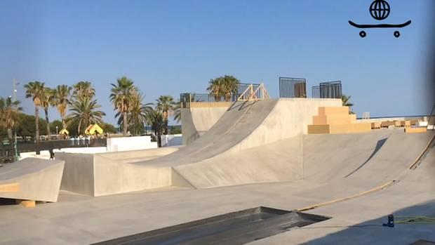 Der Freizeitpark in der Nähe Von Barcelona