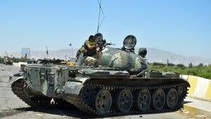 Kunduz: Afghanische Sicherheitskräfte im Einsatz