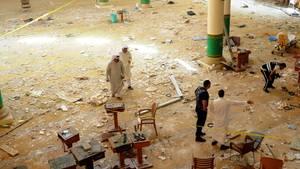 Moschee nach Anschlag in Kuwait