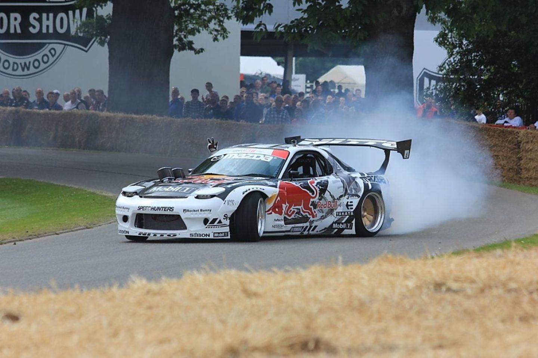 Quer geht immer: Mazda FD RX7 mit 534 PS.