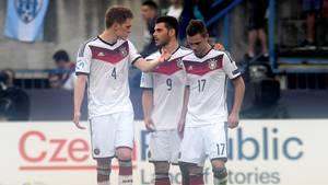 Nach der Niederlage gegen Portugal, gehen die Spieler der U21-Nationalmannschaft hart mich sich selbst ins Gericht.